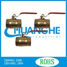China manufacturer ball valve casting iron