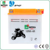 motorcycle spare parts deep cycle 250cc dirt bike lead acid battery 12V