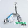 stainless steel flexible braided hose tube for toilet/faucet/water heating