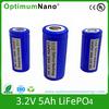 LiFePO4 Cell 3.2V 5Ah Battery(32650)