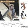 Black Fit Car Vehicle Dog Seat Safety Belt Pet Harness