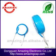 Disc ceramic capacitor 30KV 1000PF