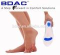 la salud de los pies suave de silicona plantillas zapato de la plantilla de médicos
