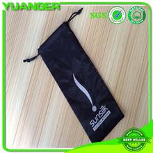 satin silk bag for wig hair extension packaging in bags