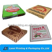 china alibaba cheap corrugated pizza box food packaging