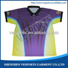 fashion custom sublimation solid wholesale polo shirt striped