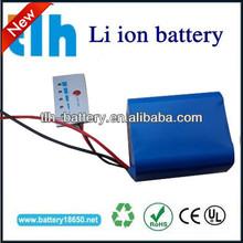 rechargeable 18650 12v lithium battery 4000mah for led light