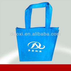 Made in China good flexibility blue non woven fabric shopping bag