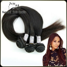 Natural Hair Crafts 2014 Hot Selling Fashion Long Size 20' Natural Straight Wholesale Brazilian Hair In China