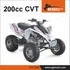 11.5 KW Auto quad 200cc CVT transmission motorcycle