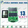 13W sunpower high efficiency solar charger case for ipad mini