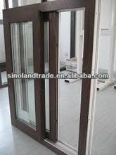 timber aluminum profile windows and door made in china