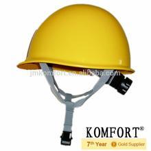 Hot sale standard industrial work safety helmet with chin strap
