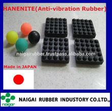 """Hanenite"""" de goma del amortiguador de choque del bloque"""" superior con la absorción de efecto de vibración"""