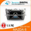 Mzd-7871gd rds con el control del volante funtion mazda de radio del coche reproductor de audio