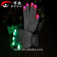 Impressive led flashing glove,flash glove,party glove for halloween