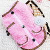 Luxury Great lady coat dog clothes design knit