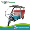 2014 novelty model 1000W 60V elegant six seated battery operated electric three wheel