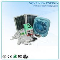 Chinese Portable 10/20w Mini Solar System,solar power generator for home use, run laptop, bulb, tv