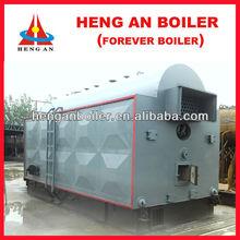 water-fire tube high pressure coal fired wood fired steam boiler