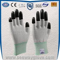 Seeway knitted glove half finger glove