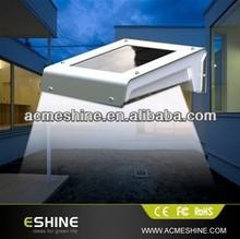 Waterproof led solar security light with motion sensor,mini solar lighting system,solar wall light