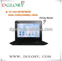 "DG-NB1003 10.2"" netbook CPU VIA8880 1024*600 512MB/4GB Android 4.2"