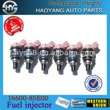 Hot sale car spare parts for DATSUN MAXIMA SERIES 3.0 denso fuel injectors/injection/nozzle OE NO.:16600-85E00