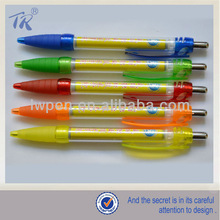 Factory Price Promotional Roll Out Plastic Ball Pen