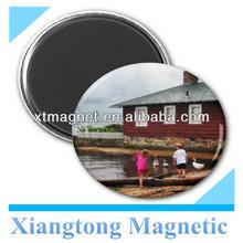 Custom Printing Children Playing by Harbor Essex CT Customer Printed Tin Plate Fridge Magnet /Custom Metal Fridge Magnets