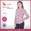 Latest design fashion cutting blouse design