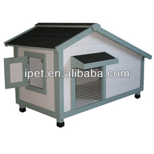 Wooden portable dog kennels with window DK004