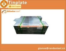wave cut/scroll cut tin free steel sheets