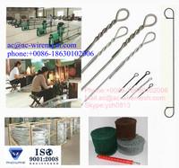 Double Loop tie Wire Ties/loop tie wire/bailing tie wire
