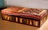 Reclaimed Wood Sofa Settee