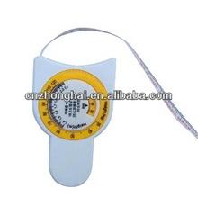 mini BMI measuring tape/ promotional bmi tape measure/plastic bmi tape