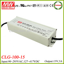 Meanwell CLG-100-15 75w led driver15v 5a