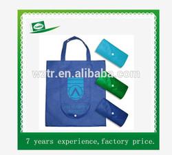 Recycle non woven foldable bag/folded non woven bag/folded non woven shopping bag