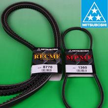 Raw edge cogged belt auto v belt transmission belt for kinds of generators.