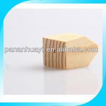 Polygon Wood Beads 9-Sides