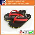Frei logoprägung keil-flip-flop männer größe Fuß
