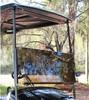 Tinted Acrylic split Golf Car Windshield