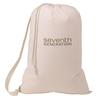 Item JC-C702 Custom 100% Unbleached Cotton Laundry Bag
