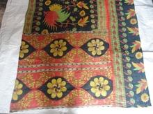 R T -2 Vintage Handmade Old Kantha Cotton Quilt bedspread designer bed cover rally bedsheet