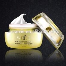Produit de beauté hydratant visage noir de la peau crème de blanchiment pour ayurvédiques