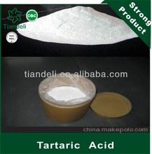 supply top quality tartaric acid in Acidity Regulators for imaging agent
