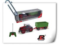RC car 1:28 RC Farm Tractor rc heavy truck kids toys radio control toys