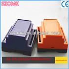 China plastic products manufacturer din rail module remote control enclosure