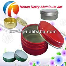 Personal care aluminum 60g cream aluminum jar
