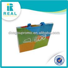 2014 popular wholesale non woven shopping bag